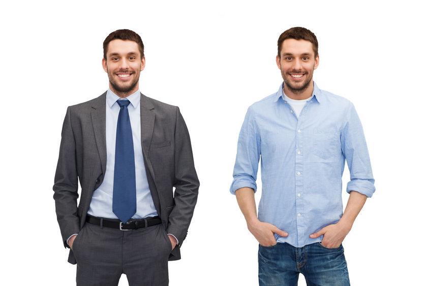 De zakelijke dresscode voor mannen verandert